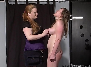 Taylor Hearts queer lesbian disrepute and boot licking submission of spanked
