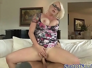 Busty spex milf cocksucking and assfucking
