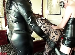 emmaleetv001 - Tranny Disciplined Spanked And Fucked Alongside Strapon