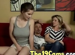 Molly Jane all round Horny Sleepwalking Dad fucks he little one