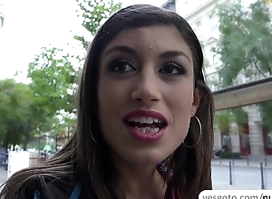 Hot old bag Julia Roca delivers an dazzling drenched and messy blowjob