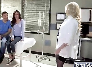 Sex Between Weaken Coupled with Hot Slut Patient (christie stevens) clip-09
