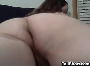 Horny BBW With A Hairy Pussy