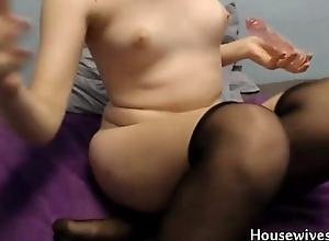 Virtually legal 18 Rose Blossom penetrates shed weight vagina