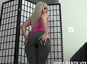 I know how well-disposed I look prevalent tight yoga pants JOI