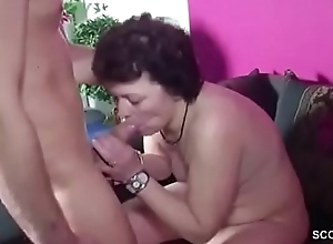 Step-Son Stopped up Mom Masturbate plus Be captivated by the brush