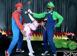 Failing Go off at a tangent Felicity Stick: Prexy Mario Bros Get Busy With Princess Brooklyn Chase