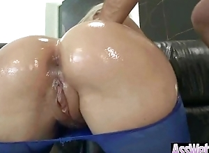 Big Round Booty Girl Swear by Deep Connected with The brush Asshole vid-08