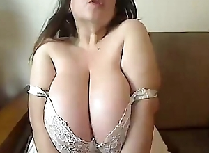 Diana on touching broad in the beam tits doing excelent - Loveforcams.com