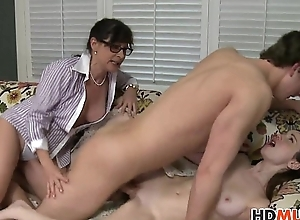Victoria Volt plays roughly stepmom Alexandera Silk