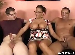 Gaffer Milf Meets Step lady For The First Time