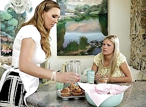 Scarlet Red-hot and Tanya Tate at Mommy'_s Girl