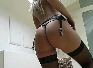 Long Blonde Barb On Superb Czech MILF