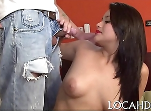 Packed with pussy latina