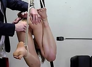 Enema with Rope Serfdom together with Suspension