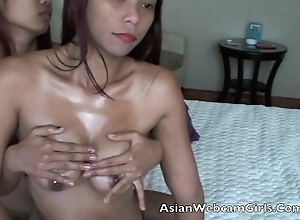 Asian Filipinas AsianWebcamGirls.Com lesbian oil massage tits