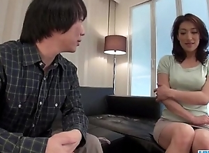 Marina Matsumoto gets fucked in the balance a huge creampie end